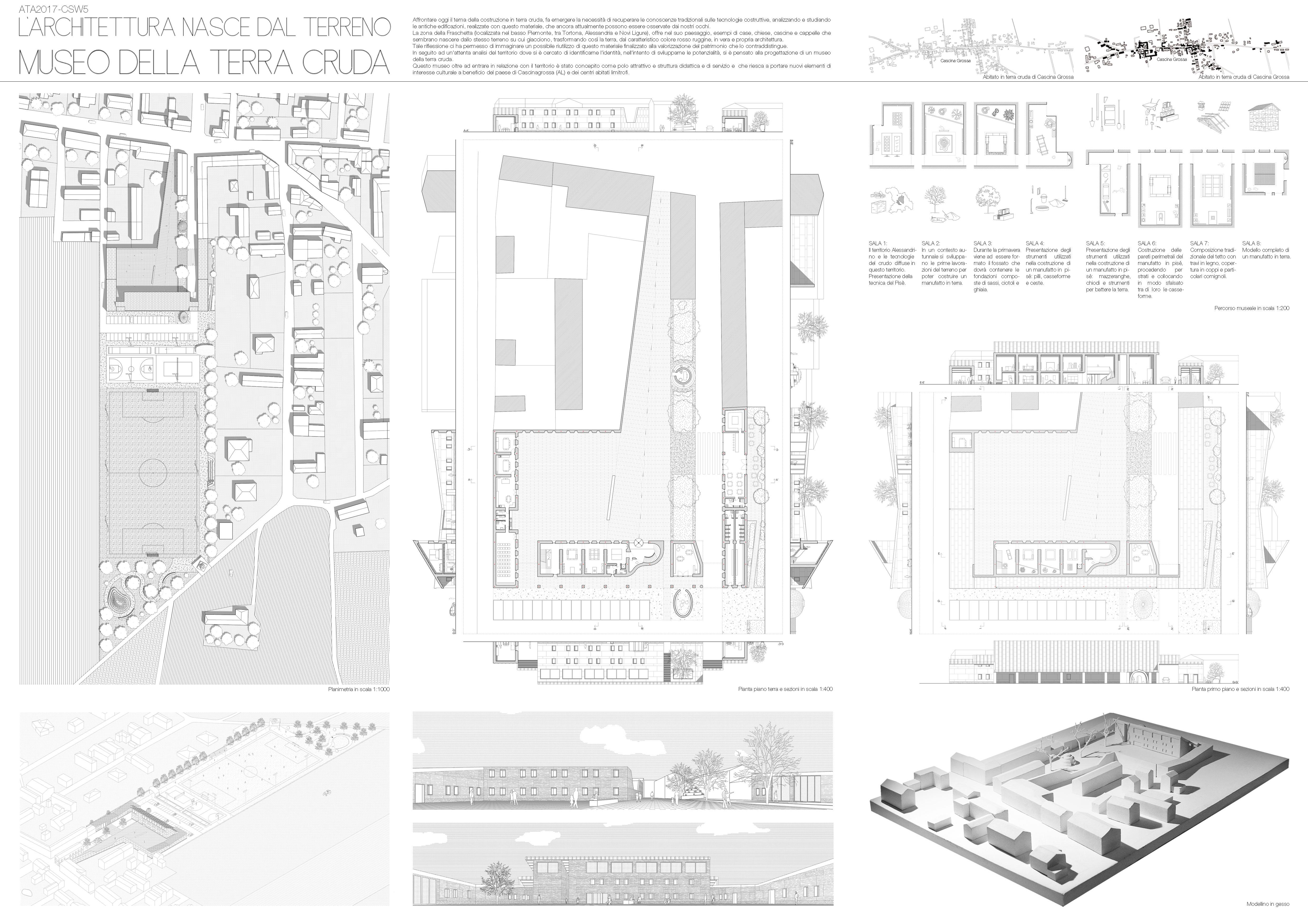 L'architettura nasce dal terreno: museo della terra cruda Board