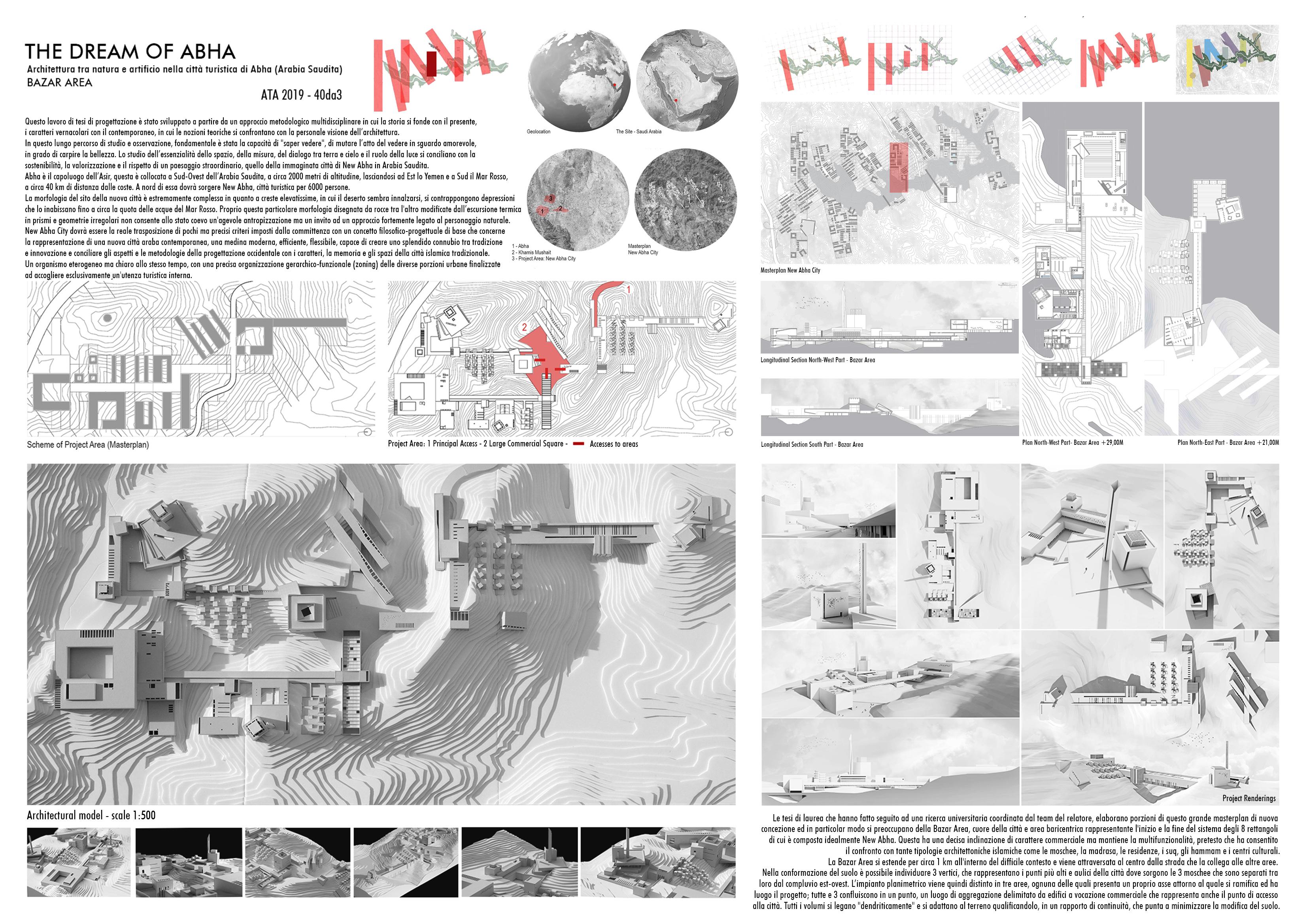 The Dream of Abha – Architettura tra natura e artificio nella città turistica di Abha (Arabia Saudita) Board