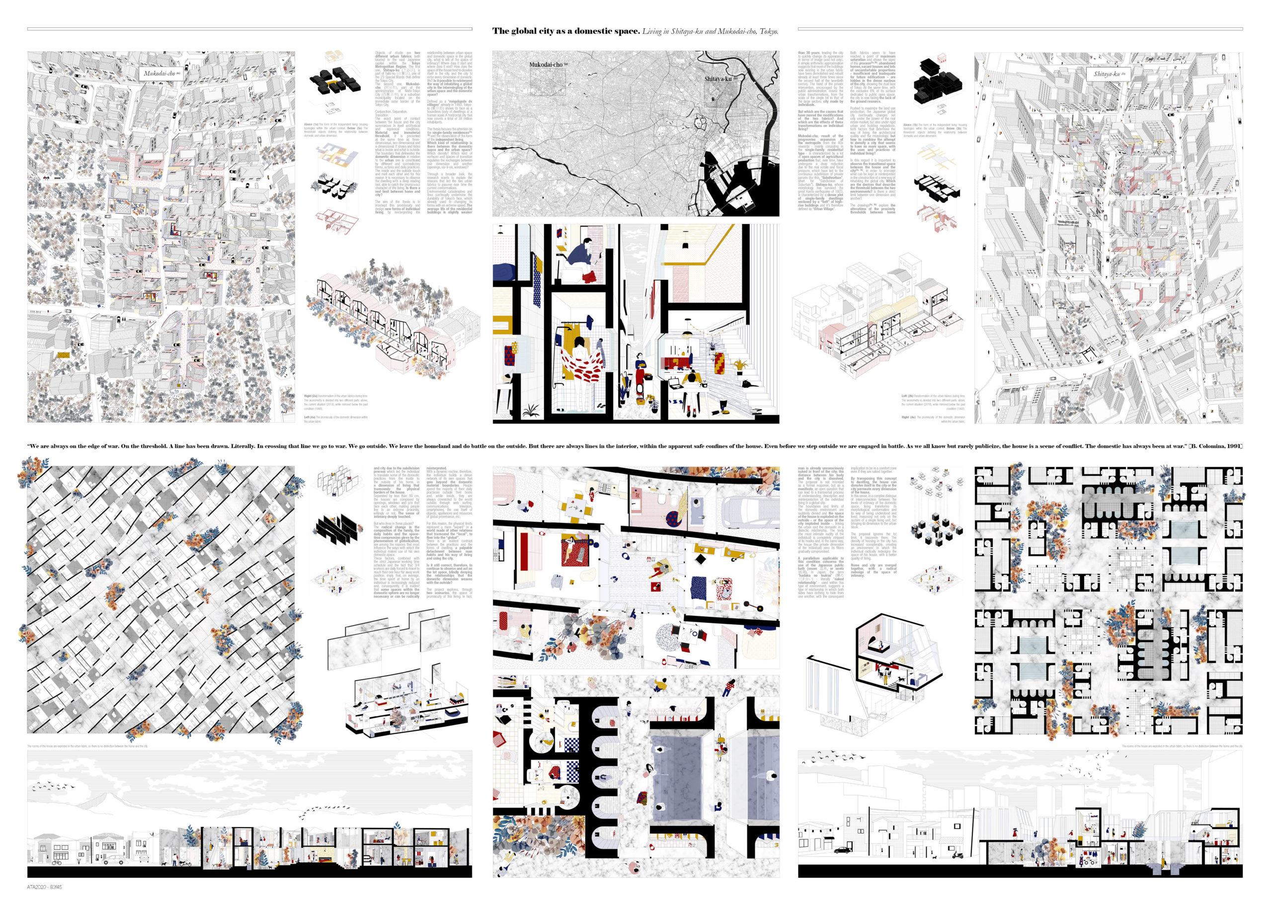 The global city as a domestic space. Living in Shitaya-ku and Mukodai-cho, Tokyo Board