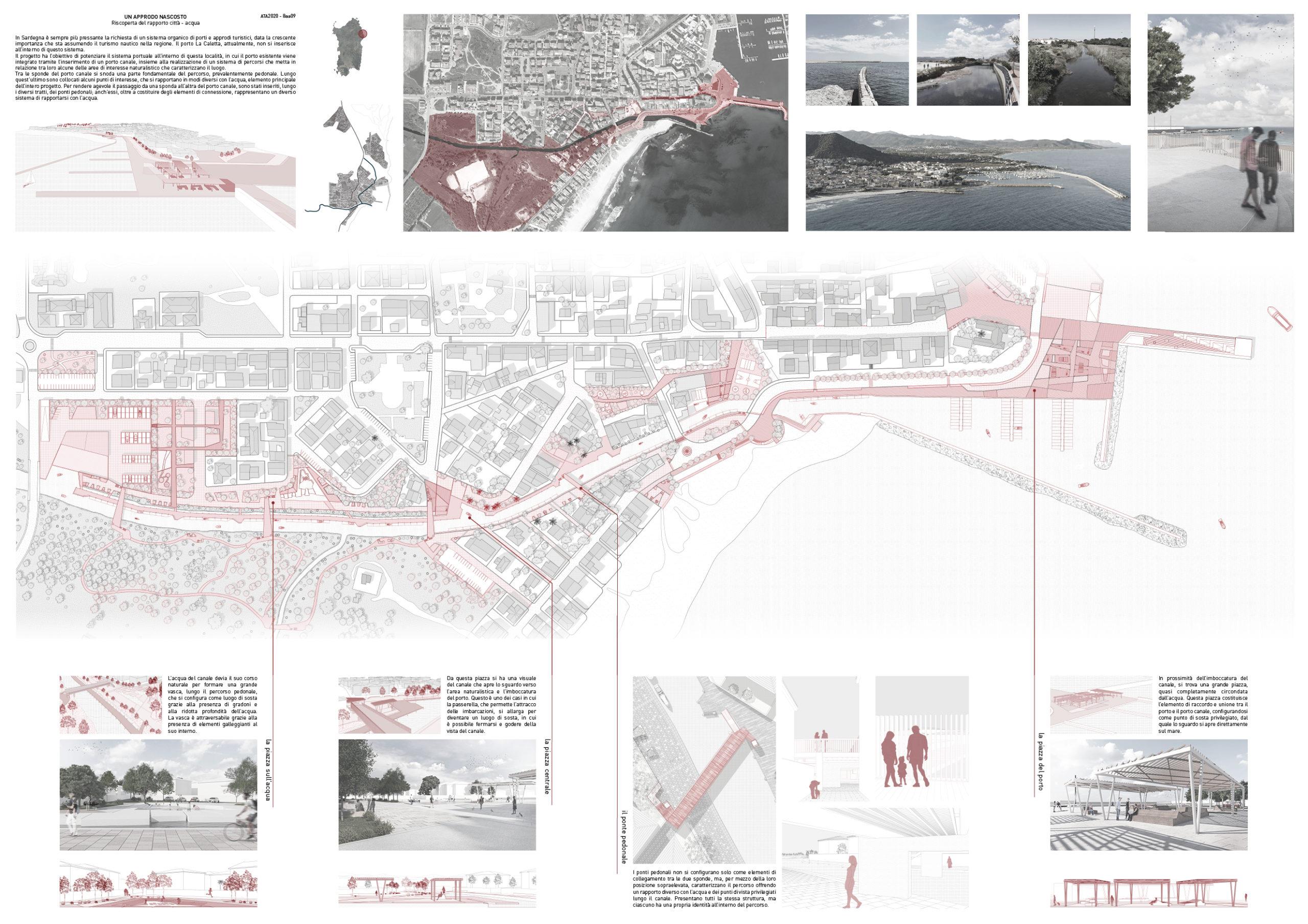 Un approdo nascosto: riscoperta del rapporto città-acqua Board