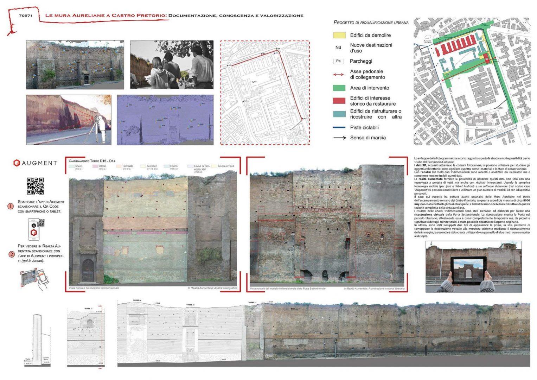 Le mura Aureliane a Castro Pretorio: documentazione, conoscenza e valorizzazione Board