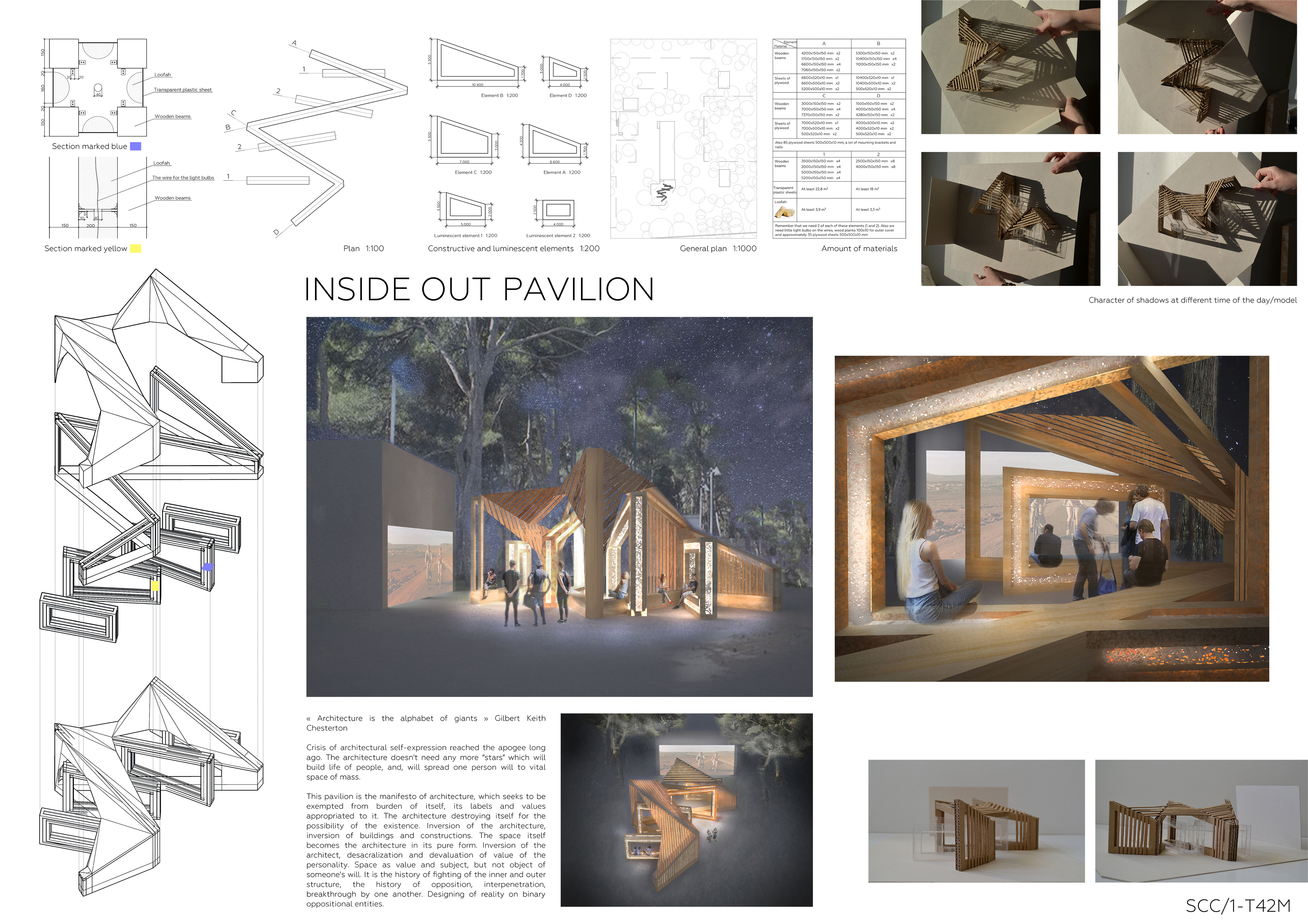 inside out pavilion Board