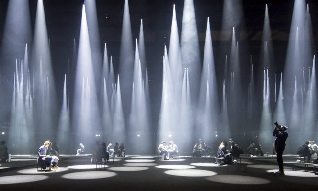 Forest of Light, Sou Fujimoto, COS installation, Milan 2016