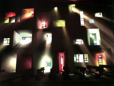Ronchamp Chapel, Le Corbusier (1954)