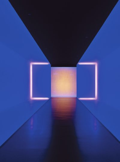 The light inside (1999), installations by James Turell