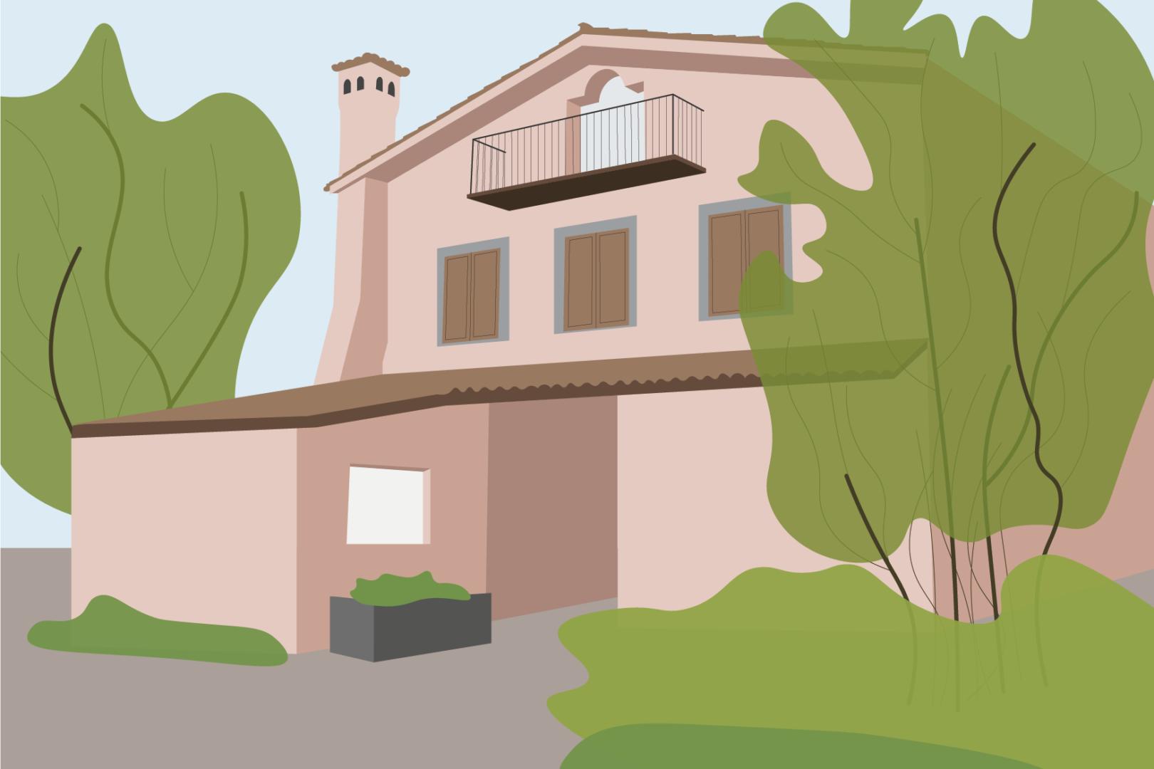 Borgo Paraelios illustrazione