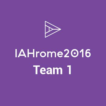 Group logo of IAHrome16 - Team 1
