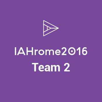 Group logo of IAHrome16 - Team 2