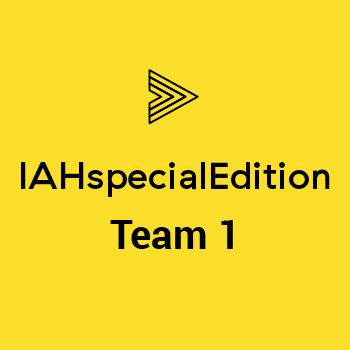Group logo of IAHspecialEdition – Team1