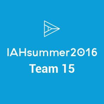 Group logo of IAHsummer16 - Team 15